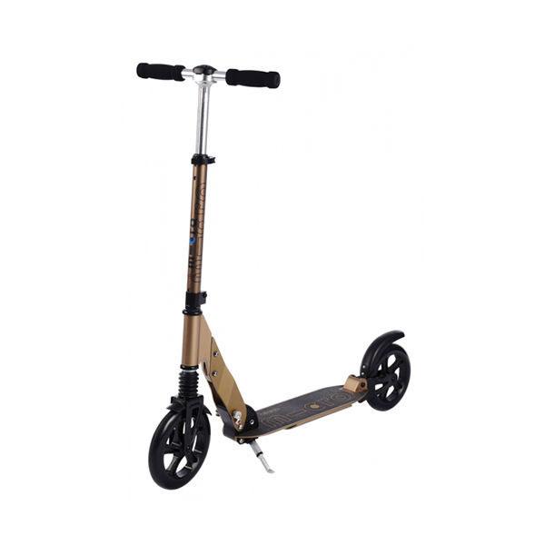 7b6378def Micro fabricó este patinete de adulto para ofrecer un scooter de alta gama.  Con un acabado en bronce que se te caerá la baba nada más subirte en él.